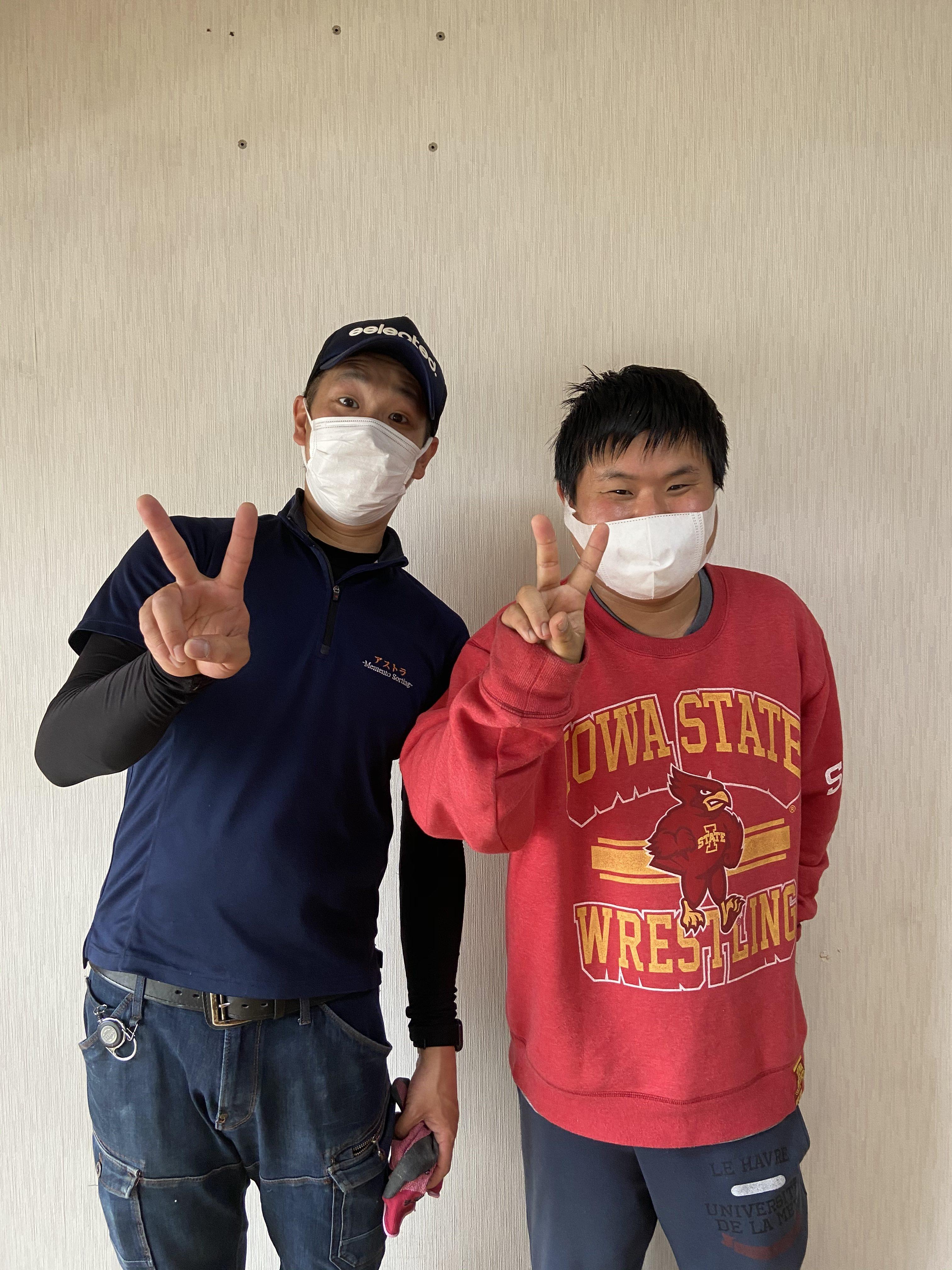 松原市のお客様の声 大阪の不用品回収のアストラ